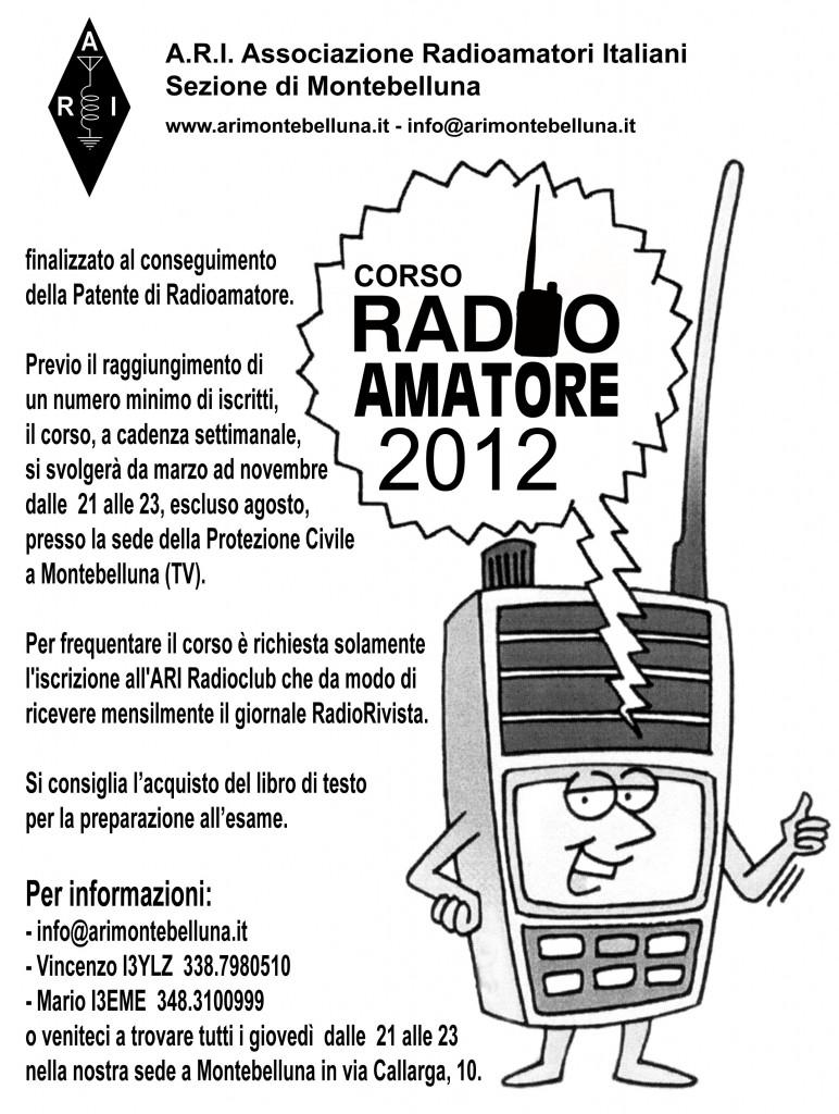 Corso Radioamatori 2012